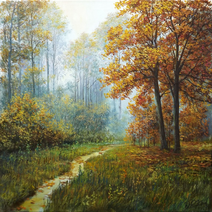 Autumn Path 2 **SOLD**