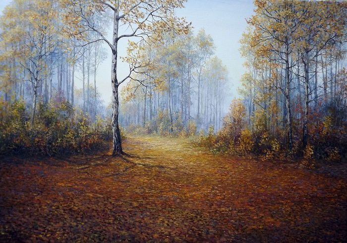 Autumn Path **SOLD**