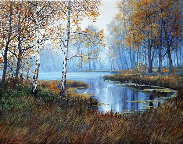 Autumn Fog **SOLD**