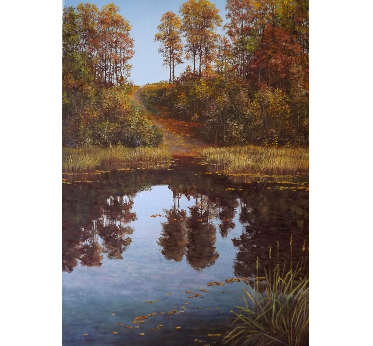 Autumn Morning on the Lake **SOLD**