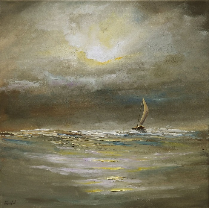 Boat in the Storm 2