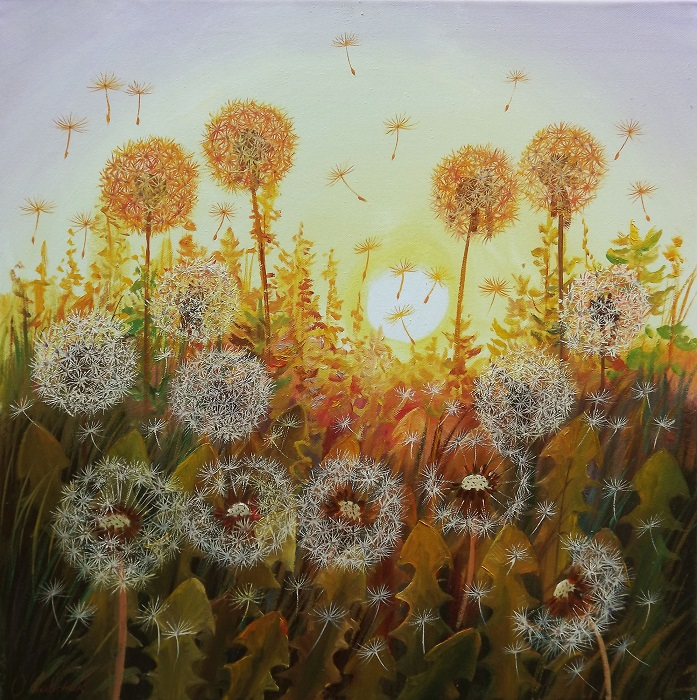 Dandelions in the Sun 2