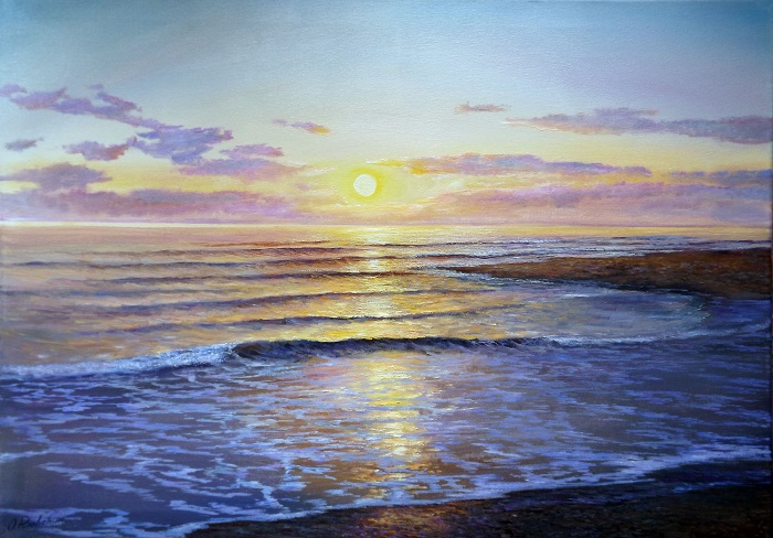 Evening Tide **SOLD**