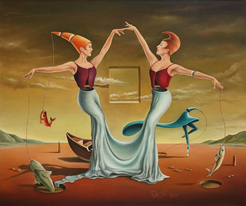 Fishing Ballet **SOLD**