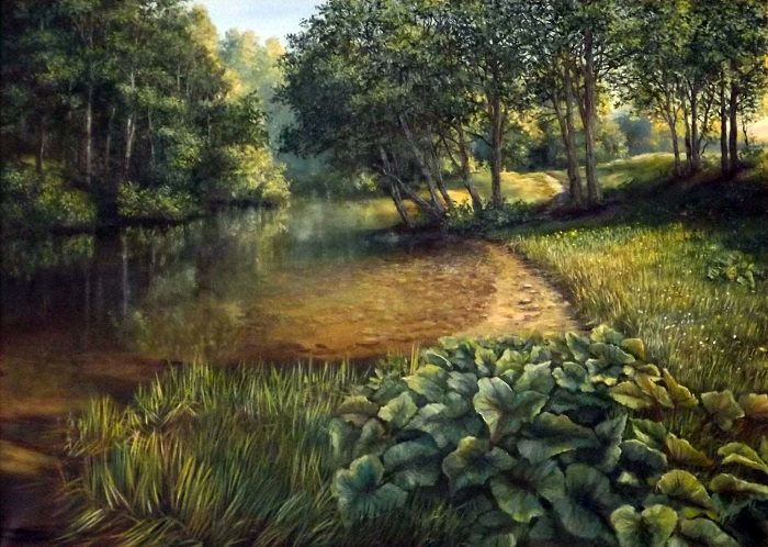 Forest River (Framed) **SOLD**