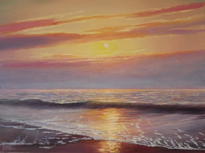 Last ray of sun II **SOLD**