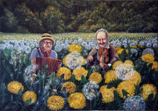 Melody of Dandelions 3 **SOLD**