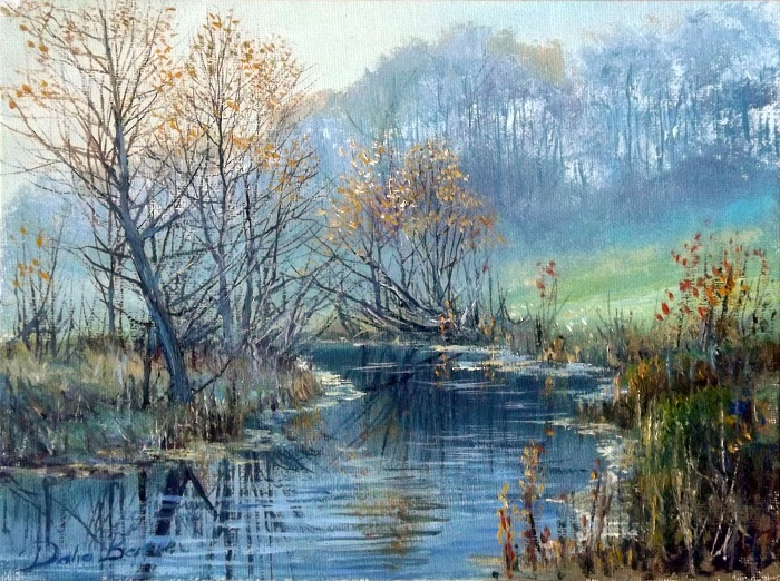 Mist on the River **SOLD**