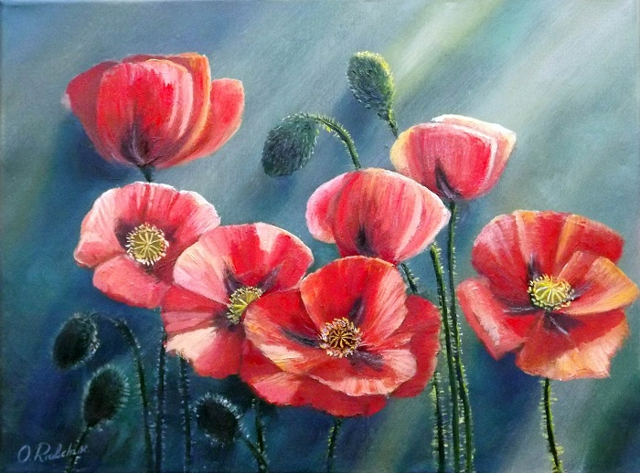 Poppies **SOLD**