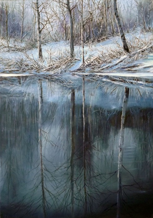 Reflection. Winter **SOLD**