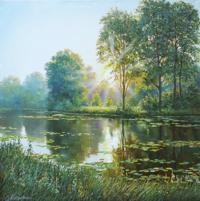Sunrise on the River 2 **SOLD**