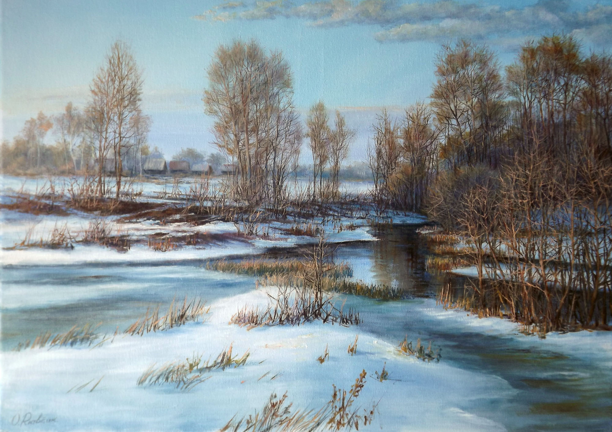 Winter Landscape **SOLD**