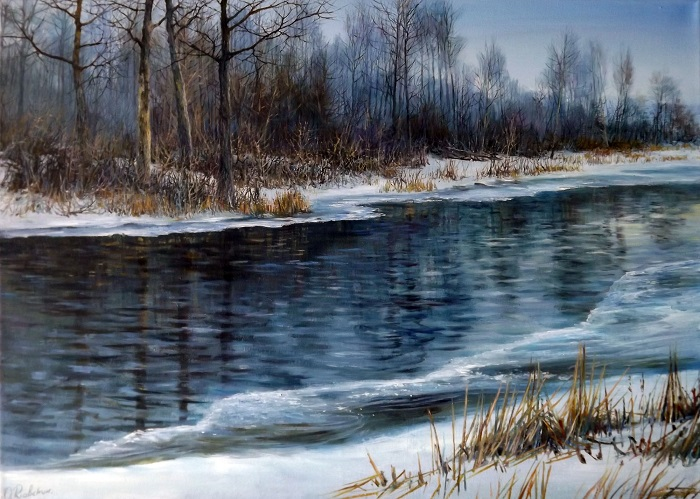 Winter River 2 **SOLD**
