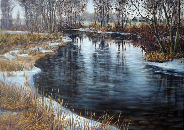 Winter River **SOLD**