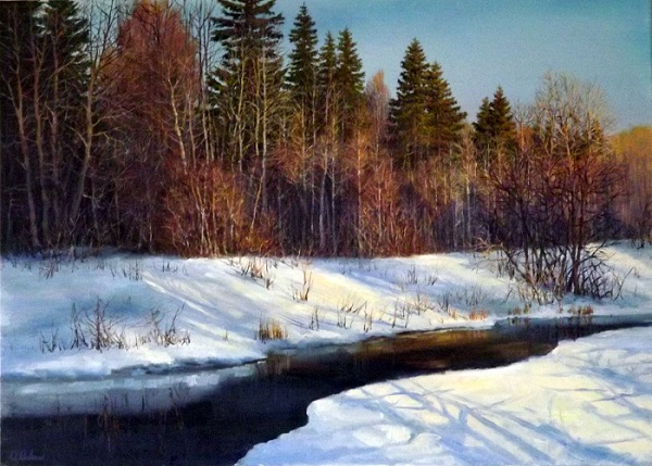 Winter morning * SOLD*