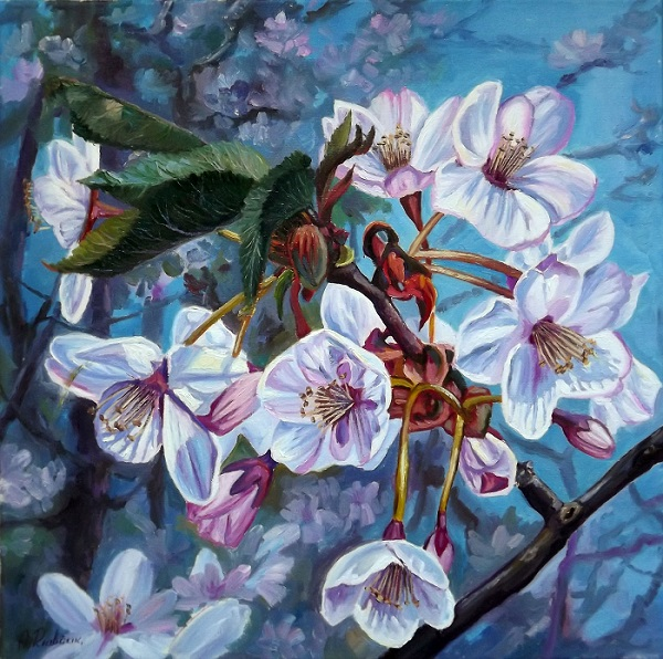 Apple Blossom 2 **SOLD**