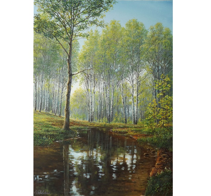 Birch Forest **SOLD**