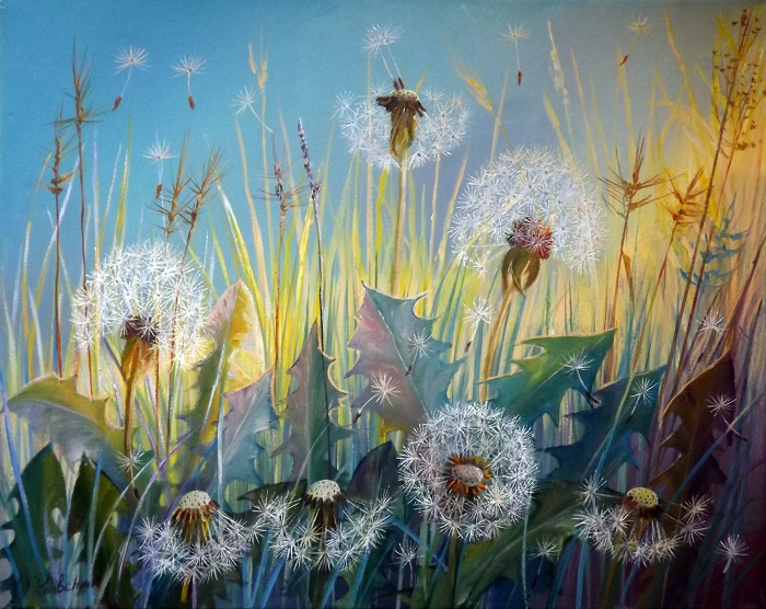 Dandelions (Summer) **SOLD**
