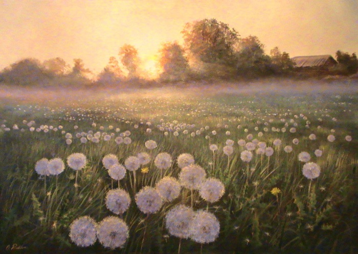 The fog in the morning **SOLD**