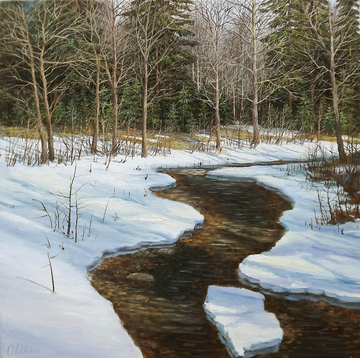 Melting Snow **SOLD**