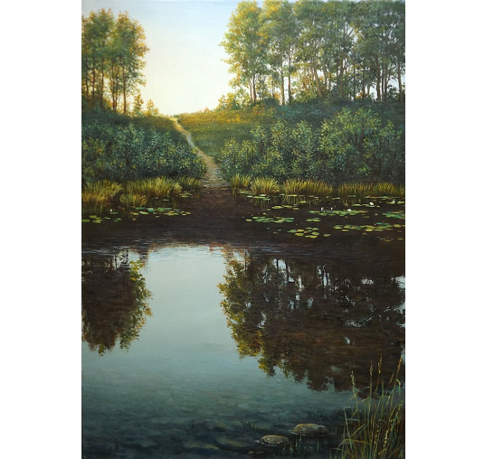 Morning on the Lake **SOLD**