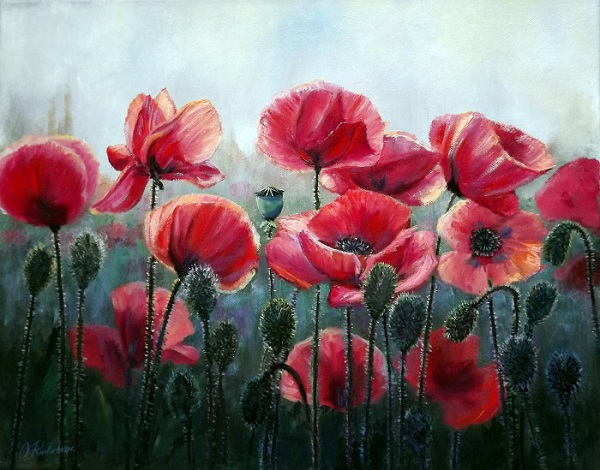 Poppies III **SOLD**