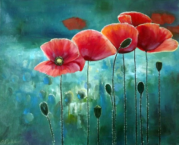 Poppies IV **SOLD**