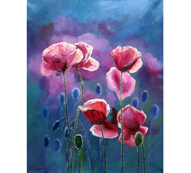 Poppies V **SOLD**