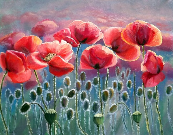 Poppies VI **SOLD**
