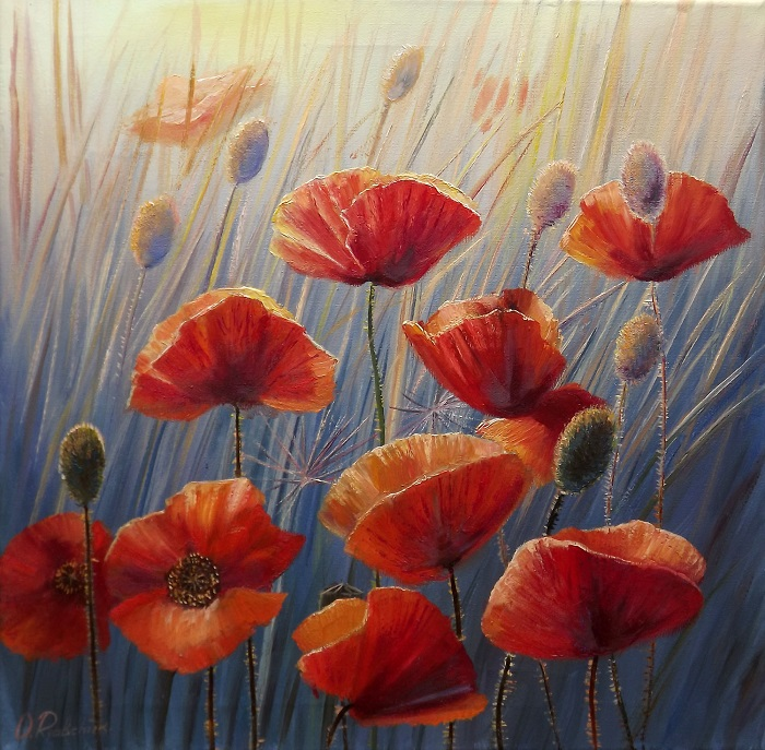 Poppies II **SOLD**