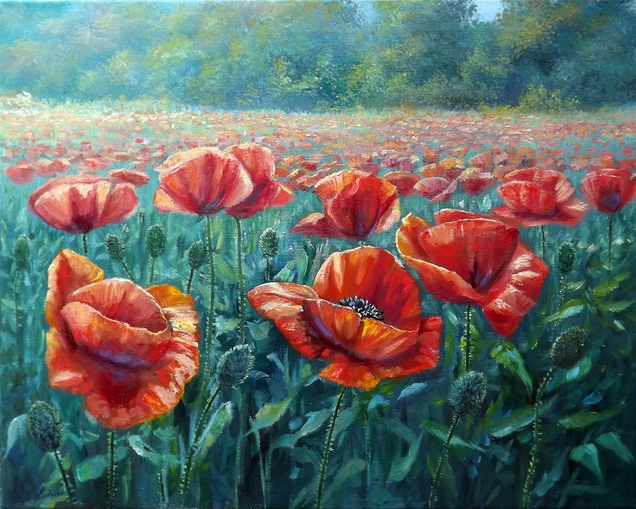 Poppy Field **SOLD**