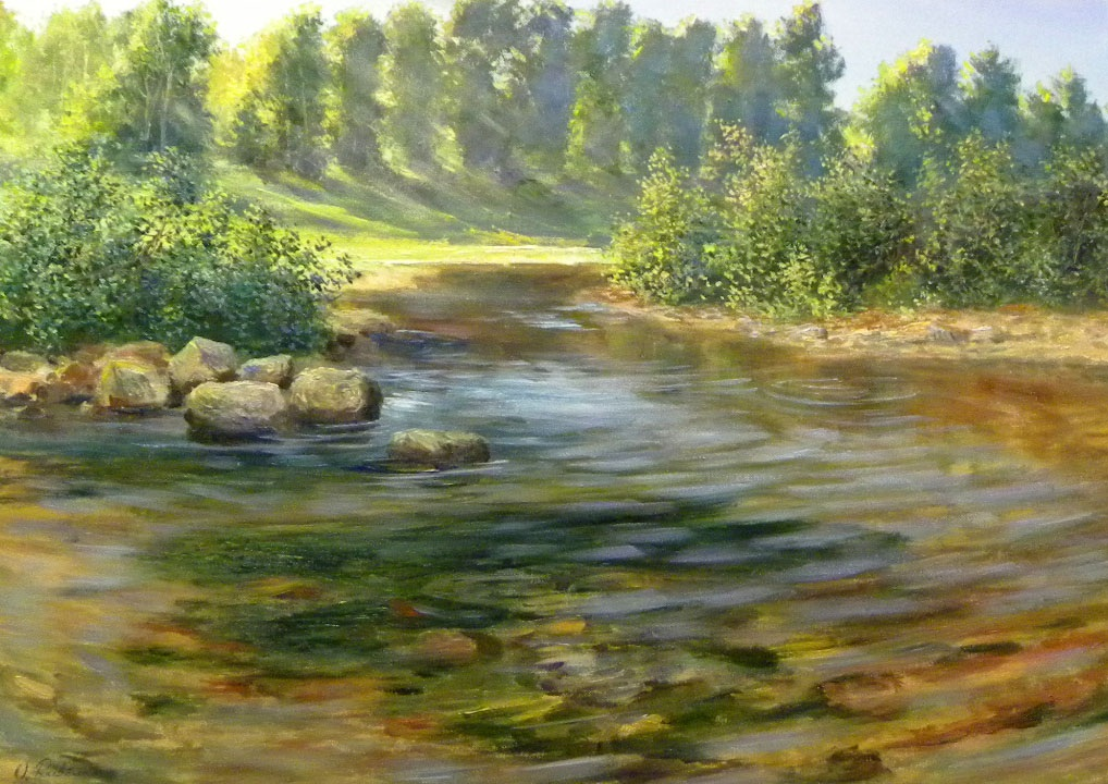 Turn of the river **SOLD**
