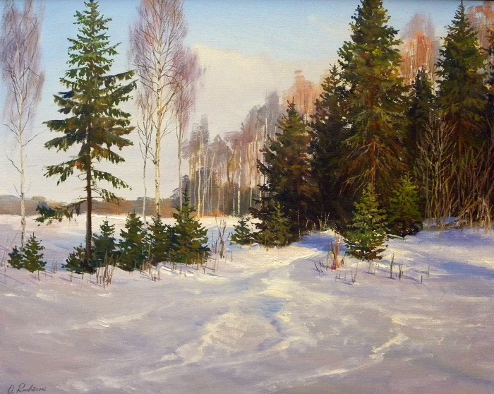 Winter Silence **SOLD**