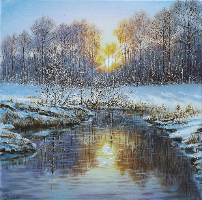 Winter Sun **SOLD**